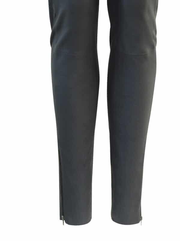 Amy leggings w. zipper black detail