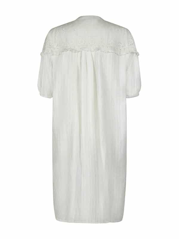Blanka dress white back