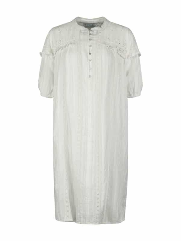 Blanka dress white front