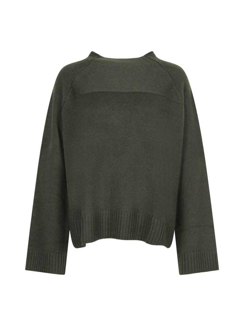 Jini neck pullover