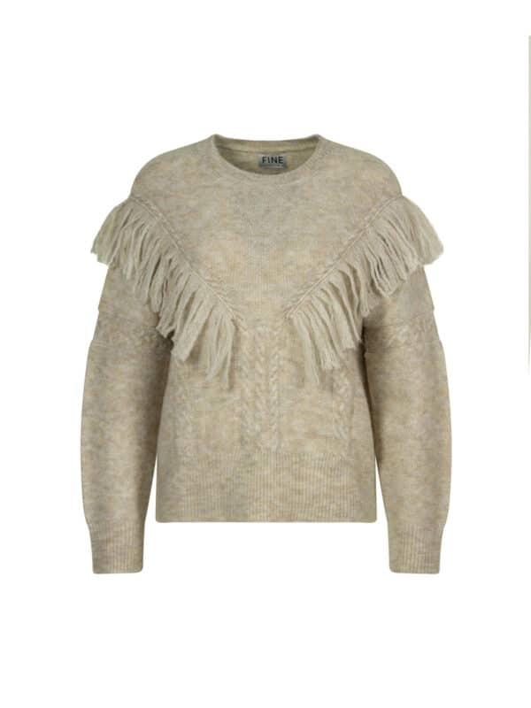 Fran fringe pullover