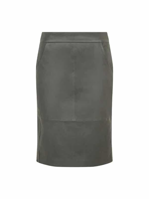 Ally zip skirt